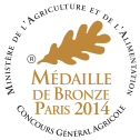 Medaille de bronze 2014 copie