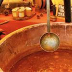 cuisson confiture chaudron