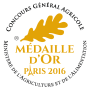 Medaille Or 2016