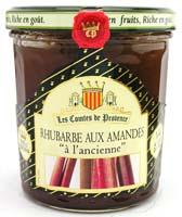 confiture_les_comtes_de_provence_ancienne_Rhubarbe_amandes