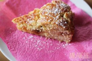 Gâteau basque à la confiture de mirabelle