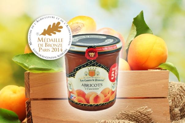 confiture abricot concours général agricole 2014