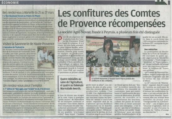 Article CDP Provence