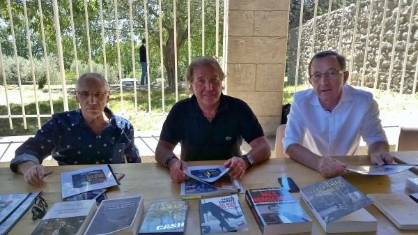 René FREGNI, Jean Pierre TISSIER et Yves FAURE