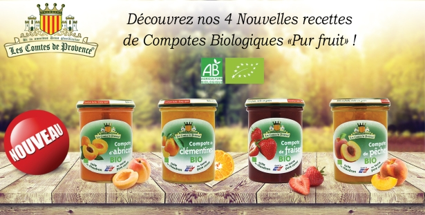 Nouvelles Compotes BIO RVB